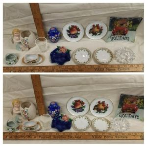 Lot of Vintage small Decorative Items